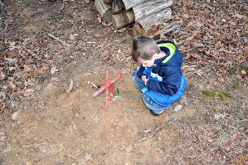 caleb with becky grave