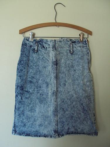 Bongo Stonewash Denim Skirt