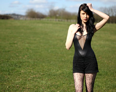 Hannah-Kate (oh-so-rosie) Tags: field model glamour bodysuit 50mmf18 hannahkate