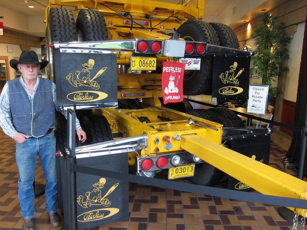 1950 Kenworth Log Truck