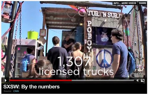 1,307 licensed food trucks in Austin