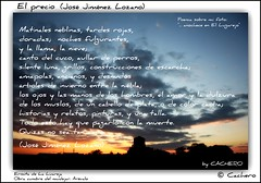 El precio. (José Jiménez Lozano) (marioadaja) Tags: sol jose paisaje cielo nubes poesia puesta ermita lozano precio jimenez poemas arevalo anochece lugarejo cachero lugareja elprecio josejimenezlozano elegiasmenores