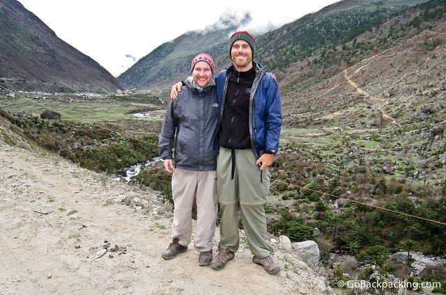 Hanging with Cameron above 4,000 meters, on an Indian military base in northern Sikkim, India