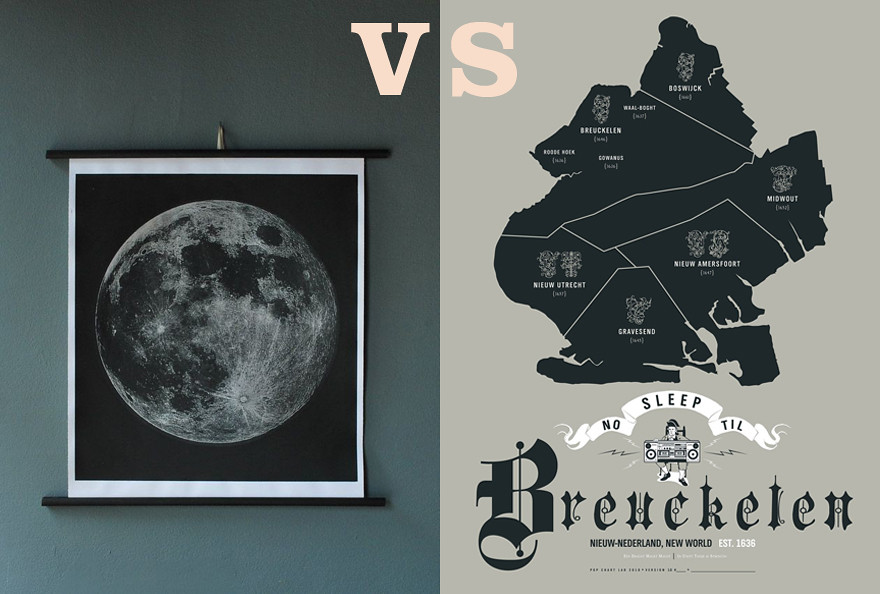 Breuckelen VS. The Moon