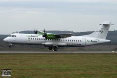 EI-SLL - 387 - Air Contractors - Aer Arann - ATR ATR-72-212 - Luton - 110225 - Steven Gray - IMG_0171