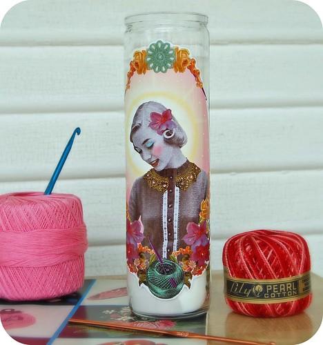 st charlotte, patron saint of crochet
