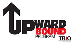 The logo for Upward Bound, a program of Trio at MSSU.