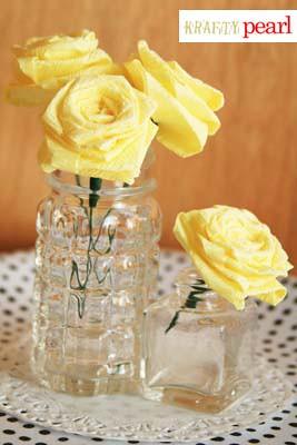 blog - crepe paper roses details 2