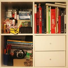 (Emily-Isa Baker) Tags: ikea bedroom things colourful shelfs