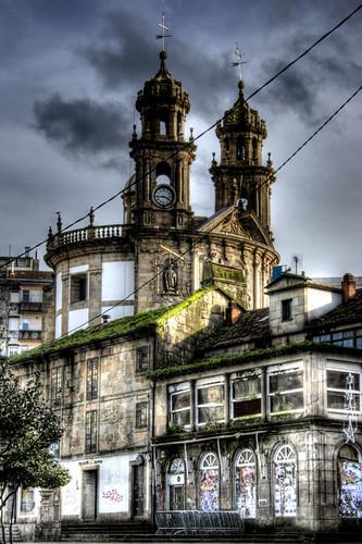 Church of La Peregrina. Pontevedra. Galicia. Iglesia de la Peregrina