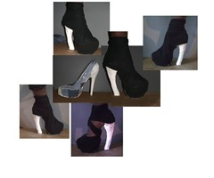 DIY SHOE (qouture) Tags: boot shoe diy high booty heel curved platfom qouture