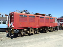 EO loco Hutt Shops 28 Feb 10 (AA654) Tags: newzealand electric railway loco workshop nz eo hutt nzr