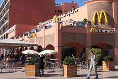 McDonald's in Marrakesh (geographyalltheway.com) Tags: urban mcdonalds morocco globalization 365 geography settlement transnationalcorporation