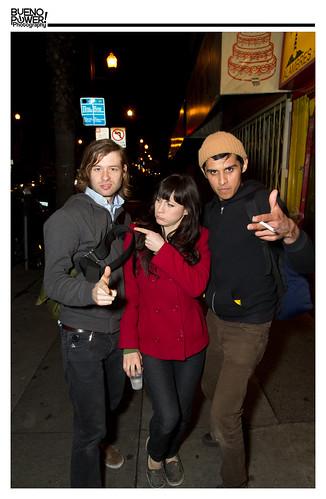 Jordan, Emily, Mike