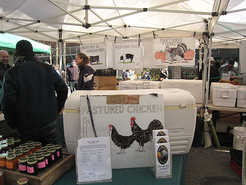 Ballard Farmers Market in March
