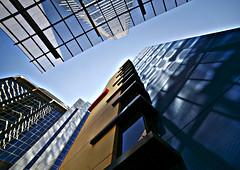 Abstract (Raja Daja) Tags: abstract buildings reflections oz australia melbourne southbank ultrawide 14mm rajadaja