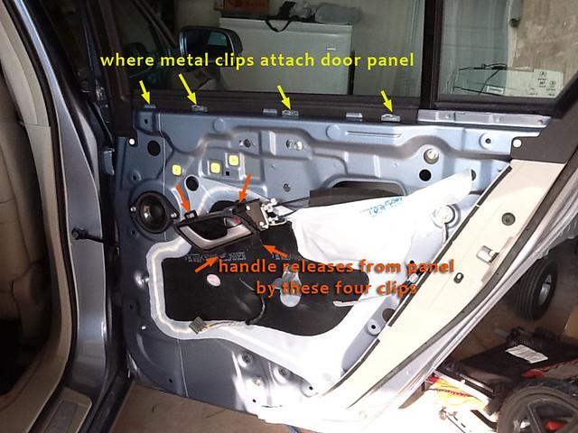 4g Diy Removing Door Panels Acurazine Acura Enthusiast Community