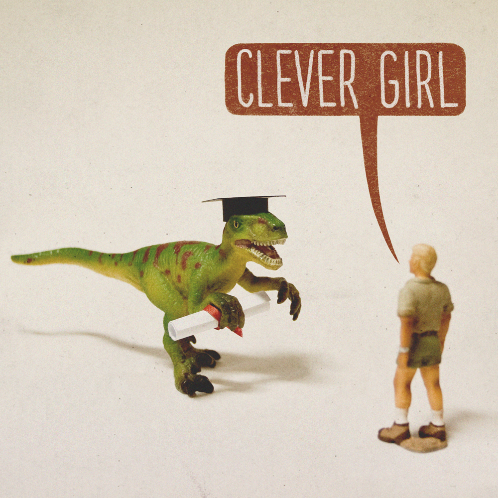 Clever Girl: Raptor Jurassic Park Funny Quotes. QuotesGram