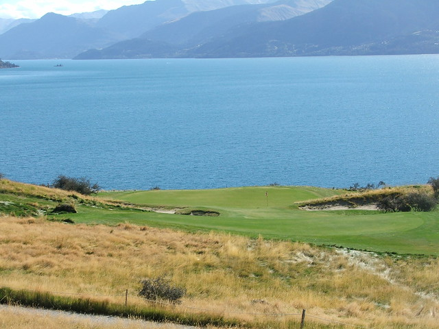 jack's point 7th green