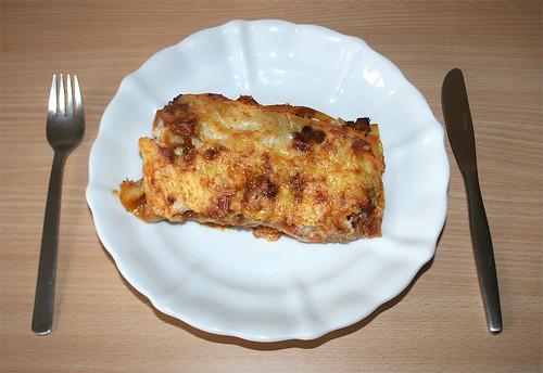 51 - Lasagne - serviert