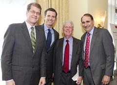 Steve Clemons, Gavin Newsom, David Axelrod