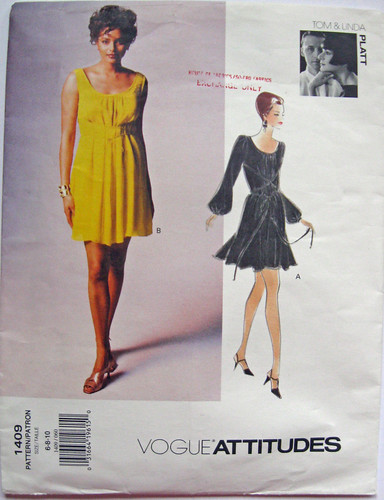 V1409 Yellow dress