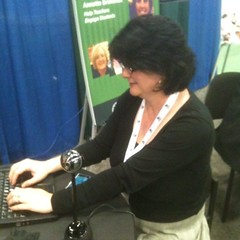 This is @alicemercer getting ready for a webcast at ascd
