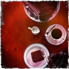 Hipstamatic 201-Gluten-Free Chocolate Chiffon Cake