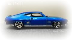 In the mist (tamahaji) Tags: blue ford hotwheels falcon 164 xb 1973 diecast