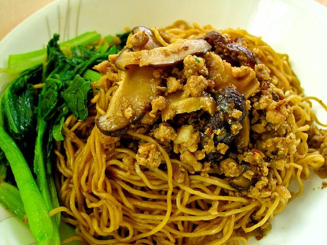 IMG_1471 肉碎云吞面,minced meat wanton noodle