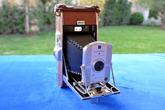 1948: LAND CAMERA MODEL 95. Polaroid Corporati...