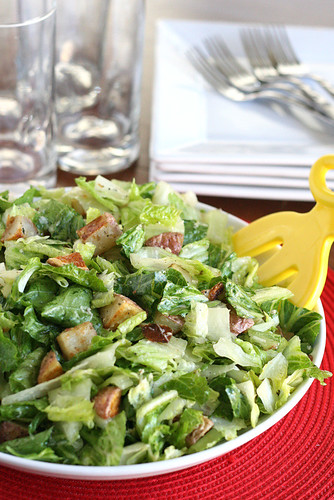 Roasted Potato Salad with Parmesan-Herb Dressing | salad recipes | roasted potato recipes | gluten-free recipe | perrysplate.com