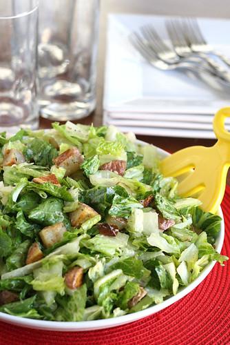 Roasted Potato Salad with Parmesan-Herb Dressing | salad recipes | roasted potato recipes | gluten-free recipe | perrysplate.com
