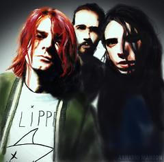 Nirvana (Annarki Manson) Tags: photoshop nirvana kurtcobain