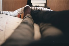 In our beds we're the lucky ones. (whachadoin) Tags: color film prakticamtl3 pentacon50mm18