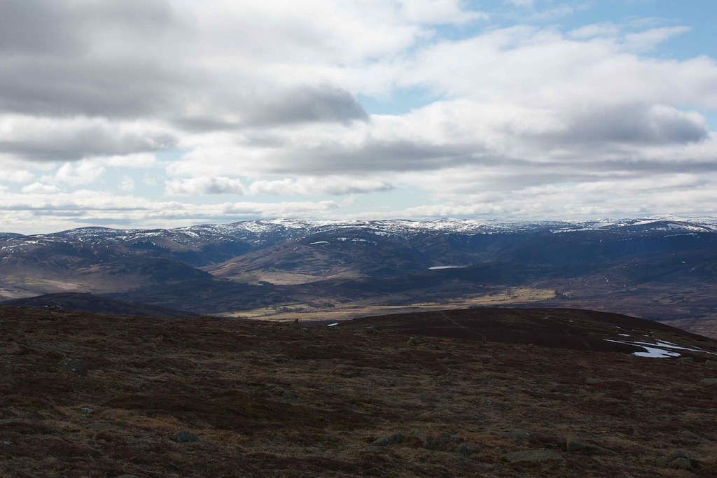 Glen Esk Hills and Loch Lee