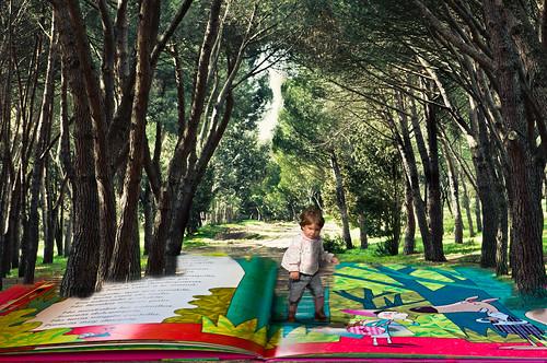Jimena en el bosque by Gloria_CC