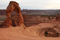 Different Angle on Delicate Arch (mcmillend) Tags: utah archesnationalpark delicatearchhike march2011