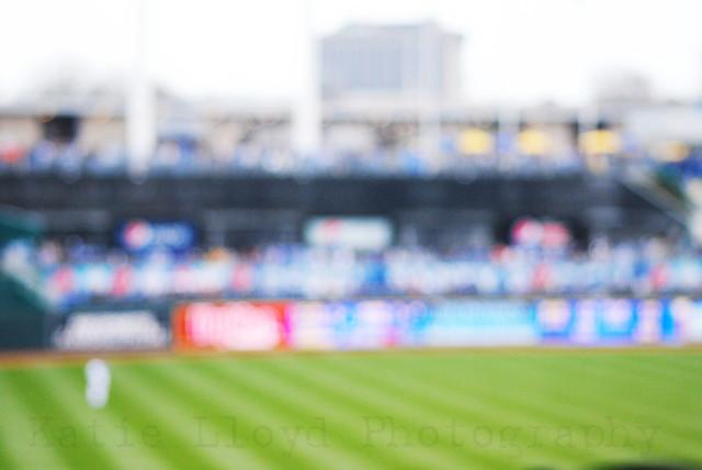 Baseball Outfield Blur