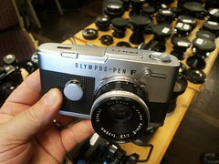 Fotobörse Köln / PEN F analog (rainer.marx) Tags: köln cologne fotobörse analog film kamera olympus penf