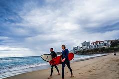 DSC01475 (Damir Govorcin Photography) Tags: surfers bondi beach sydney water sand zeiss 1635mm sony a7ii clouds sky