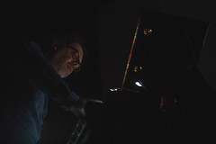 Ian Mistrorigo 012 (Cinemazero) Tags: pordenone silentfilmfestival cinemazero ianmistrorigo busterkeaton matine cinemamuto pianoforte