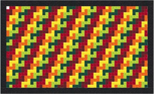 Tetris Fall