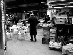 roma 7 - (2011) ((rino)) Tags: street people bw italy rome strada italia gente market bn mercato roam