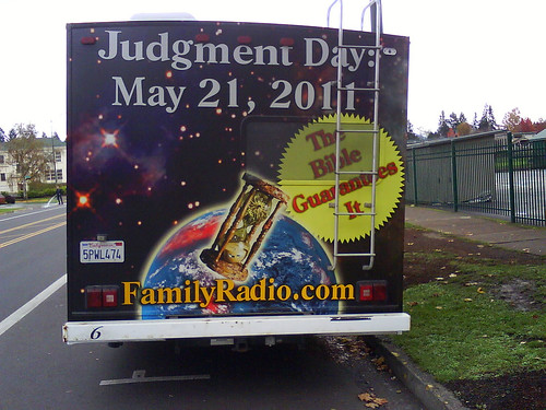 judgment day 2011. Judgment Day: May 21, 2011