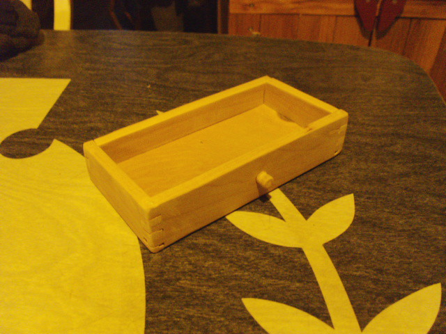 A small drawer or tray type of thing