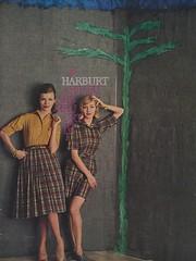 Harburt (The Cardboard America Archives) Tags: ladies fashion vintage ads advertising women 1959 harburt