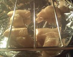 Baked mochi