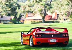 Ferrari F50 (GHG Photography) Tags: auto california red italy cars car speed photography hp italian power fast automotive olympus f1 ferrari exotic pebblebeach expensive rosso torque rare exclusive supercar fastest sportscar horsepower corsa v12 f50 mostexpensive hypercar e520 ghgphotography