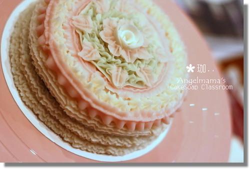 天使媽媽蛋糕皂教學珈2